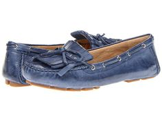 Frye Reagan Kiltie Blue Soft Vintage Leather - Zappos.com Free Shipping BOTH Ways