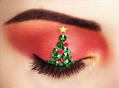 Eye girl makeover christmas tree photo by heckmannoleg on Envato Elements Holiday Makeup, Christmas Makeup, Christmas Tree, Xmas Trees, Winter Christmas, Eye Makeup, Beauty Makeup, Girl Makeover, Whitening Skin Care