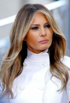 Melania Trump released a statement Thursday, August denying that she's broken any immigration laws — read it here Donald And Melania Trump, First Lady Melania Trump, Melania Trump Hair Color, Donald Trump, Milania Trump Style, Melania Knauss Trump, Malania Trump, Trump Is My President, Hair Trends