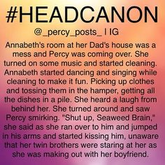 Instagram photo by _percy_posts_ - Headcanon 3 {My Edit Give Credit}  Ok so this is another random #headcanon I thought of! If you repost please give creds  All of my headcanons are here ➡️