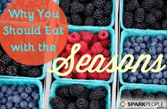 Seasonal foods pack the most flavor and nutrition. They're easier on your wallet, too. via @SparkPeople