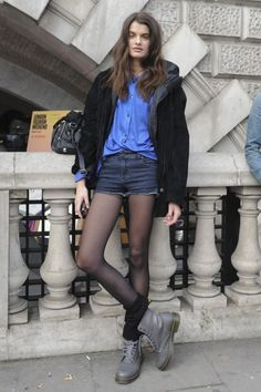 . style-inspirations and my fave and dream DRMARTENS Gray Pascal