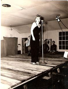 USO Entertainer, In the Aleutians, WWII. USO Camp Shows, Inc. - Alaska | Flickr.com - alexaleutians