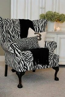 Zebra print ... Has my fav number on it too!