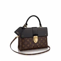 One Handle Flap Bag MM Monogram Canvas in Women's Handbags collections by Louis Vuitton Luxury Handbags, Louis Vuitton Handbags, Fashion Handbags, Louis Vuitton Speedy Bag, Purses And Handbags, Fashion Bags, Louis Vuitton Monogram, Leather Handbags, Tote Handbags