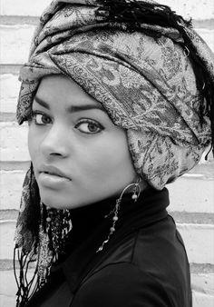 Wrapped turban