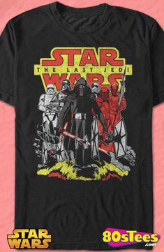 First Order Star Wars The Last Jedi Geeks:   Enjoy the comfort of home or travel the great outdoors in this men's style shirt that has been designed and illustrated with great art.