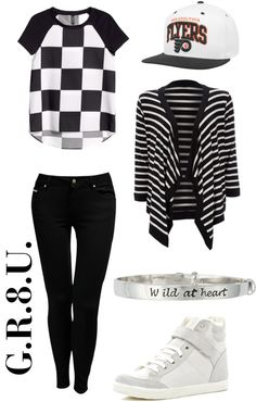"""She wears kpop. - Outfit inspired by: VIXX in """"G.R.8.U."""" MV. ..."""