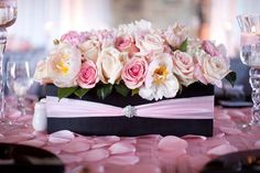 Ooh La La Pink Parisian Themed Flower Fantasy Luxury Baby Shower | Baby Lifestyles