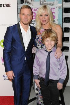 Pin for Later: 20 Stars Who Went From Boy Bander to Doting Dad Brian Littrell, Backstreet Boys Brian and his wife, Leighanne, share a son named Baylee, whom they welcomed in 2002.