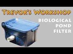 Looking for some easy to build and cheap DIY Koi pond filters? Read these incredible inspirations and build your self-built filter for your lovely koi pond! Pond Filter Diy, Pond Filter System, Pond Filters, Outdoor Fish Ponds, Ponds Backyard, Backyard Waterfalls, Garden Ponds, Goldfish Pond, Building A Pond