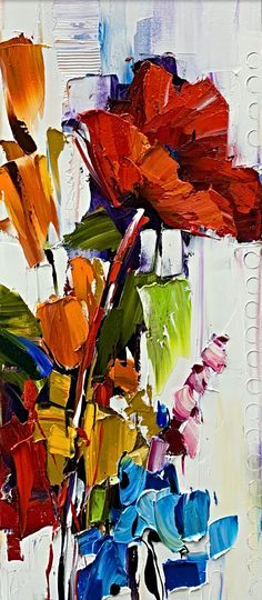As Anyone can See, oil flower painting by Kimberly Kiel | Effusion Art Gallery + Cast Glass Studio, Invermere BC Sky Painting, Painting For Kids, Dance Paintings, Landscape Paintings, Modern Art, Contemporary Art, Wedding Painting, Cast Glass, Mountain Paintings