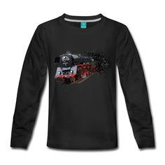 Design für Fans von Dampflokomotiven.