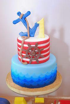 Popeye + Sailor themed birthday party via Kara's Party Ideas! KarasPartyIdeas.com (38)