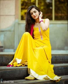shipping free cod available Trendy Designer K… – girl photoshoot poses Cute Girl Poses, Girl Photo Poses, Patiala Salwar, Kurti, Girl Pictures, Girl Photos, Mehendi Outfits, Kurta Designs Women, Salwar Designs