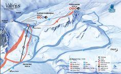 Plan des pistes   Valfréjus, station de ski Savoie, Maurienne - Vacances ski : domaine skiable, forfait, webcam, météo Les plans de pistes du domaine skiable de Valfréjus