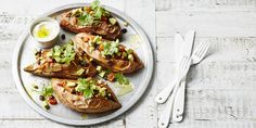 Mexican Loaded Baked Potato via @iquitsugar