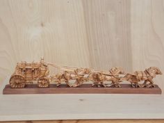 Western Decor Stagecoach ~ Stagecoach Wood Carving with stand ~ Western Home Decor ~ Western Art ~ Western Sign ~ Rustic Cowboy Art by TheWoodGrainGallery on Etsy