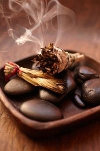 essential oils for clearing & smudging