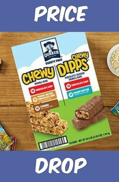 Quaker Chewy Granola Bars & Dipps 58-Count Variety Pack Just $6.87 Shipped!