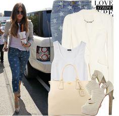 """Celebrity street style: Khloe Kardashian"" by anitalolonga on Polyvore"