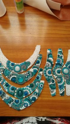 Beautiful bead embroidery!!!