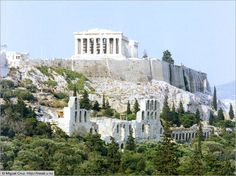 Acropolis, Athens, Greece Even though Greece is bringing down the whole country of Europe, I am dying to go there and actually live there. This is my dream home. Acropolis Greece, Athens Greece, Greece Trip, Great Places, Places To See, Beautiful Places, Amazing Places, Vacation Places, Places To Travel