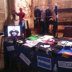 Seguimos en el FESTIVAL DE CÓMIC DE ÚBEDA Y BAEZA, en San Lorenzo, visita nuestro stand hasta las 19:30 horas. www.ubeda.friking.es