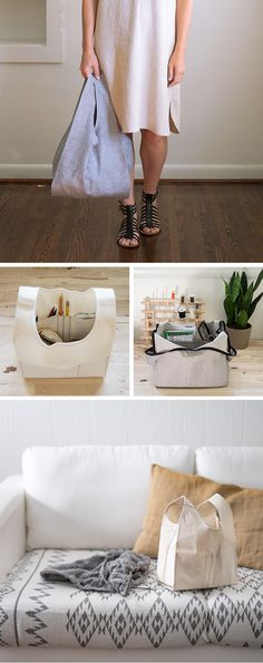 Fringe Supply Co. x Grainline Studio = Stowe Bag sewing pattern