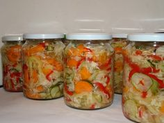 Fresh Rolls, Pickles, Tapas, Mason Jars, Food And Drink, Homemade, Health, Ethnic Recipes, Home Made