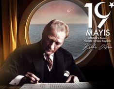 19 Mayıs Atatürk'ü Anma, Gençlik ve Spor Bayramı on Behance Ulsan, Adobe Illustrator, Behance, Photoshop, Nyc, Gallery, Illustration, Poster, Fictional Characters