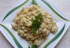 Káposztás-burgonyás galuska Bologna, Risotto, Grains, Rice, Ethnic Recipes, Food, Essen, Meals, Seeds