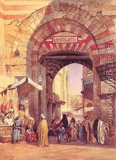 The Moorish Bazaar by Edwin Lord Weeks