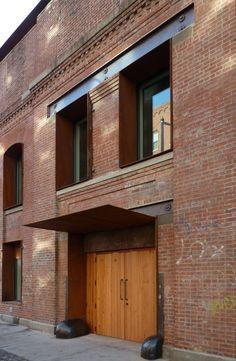 Factory entrance. Eberhard Faber Pencil Factory - Kent street entrance