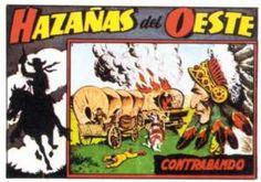 """""""Hazañas del Oeste"""" (1959). Editado por Toray. Edición facsímil."""