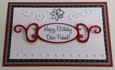 Stempeltechnik, Spellbinders, Sweet'n Sassy, Happy Birthday
