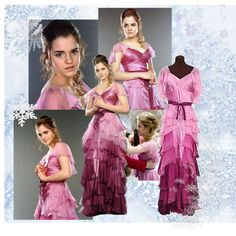 Hermione Yule Ball I\u0027m going to get 2 versions of this dress one day