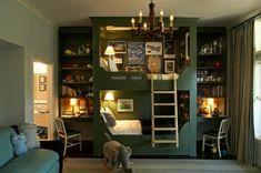 31 idées déco chambre  garçon - idées-déco- chambre-garçon-élégant-vintage
