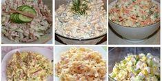 7 nesmrtelných salátů z dob socialismu, které dnes v obchodech nekoupíte Potato Salad, Vegetarian Recipes, Grains, Food And Drink, Potatoes, Rice, Treats, Ethnic Recipes, Handmade