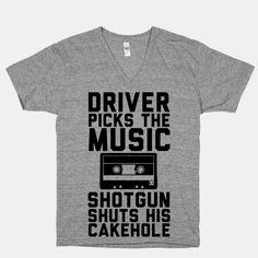 Driver Picks the Music Shotgun Shuts His Cakehole | HUMAN