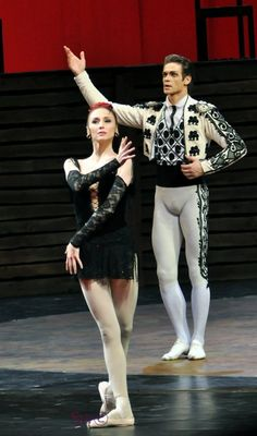"<<Svetlana Zakharova (Bolshoi Ballet) after a performance of ""Carmen - Suite"" at the Mariinsky Theatre, February 4, 2013>>"