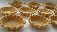 The coolest dough for crumbly baskets. So delicious that you do not want to experiment anymore! Russian Desserts, Russian Recipes, Muffins, Small Desserts, Sweet Pastries, No Bake Cake, Sweet Recipes, Food To Make, Bakery