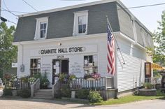 """Granite Hall Store Round Pond Maine - The last place the fam used to stop for """"penny candy"""" & ice cream after a day at Pemaquid Beach."""
