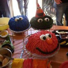Kyra's second birthday cakes!