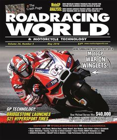 The May 2016 Issue Of Roadracing World & Motorcycle Technology Is Now Available Online ‪#‎motorcycle‬ http://webogi.com/Pbs9Xd