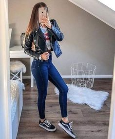 129 fashion teenage ideas to look cool and fashionable n - page 44 > homemytri. - Outfits for school - Teenage Outfits, Cute Casual Outfits, Teen Fashion Outfits, College Outfits, Outfits For Teens, Fall Outfits, Grunge Outfits, School Outfits, Fashion Clothes