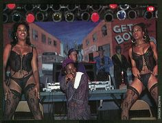 "The Source Magazine, Issue October Coast II Coast. ""Bushwick Bill sparkin' it with his (ahem) dancers in Atlanta. Source Magazine, Dancers, Rap, Atlanta, Hip Hop, Coast, October, Style, Swag"