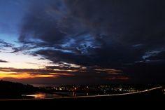 Del Mar Sunset over the I5 Freeway
