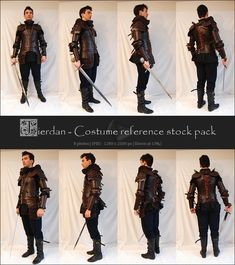Warlord reference pack by ~Grinmir-stock on deviantART
