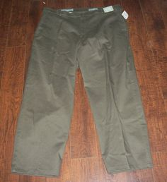 NWT EVERGREEN WRINKLE FREE NORDSTROM MEN'S PANTS, SZ 42 x 30. EXCELLENT! #Evergreen #KhakisChinos